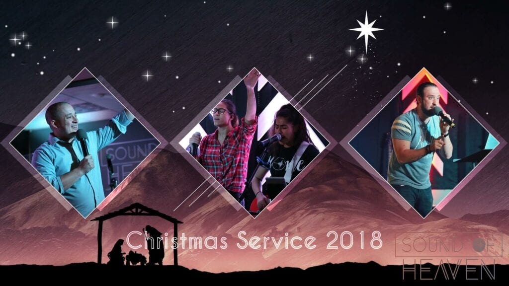 Celebrating Christmas Time at Sound of Heaven 1