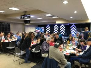 2018 Veterans Thanksgiving Dinner was a huge success! 1