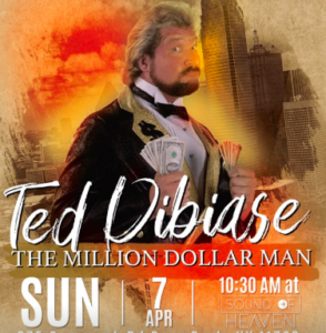 """Million Dollar Man"" to Visit Sound of Heaven Church"