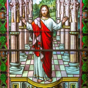 John 9 stained glass pic